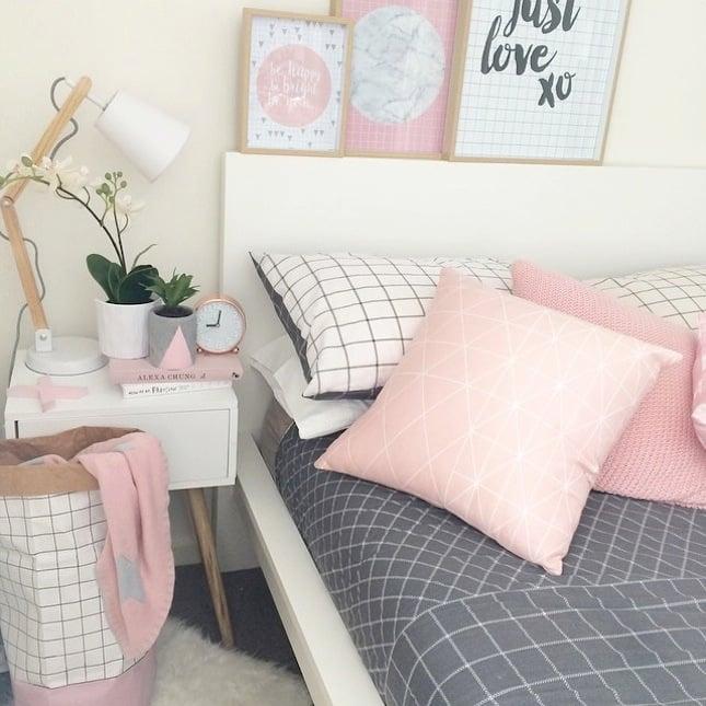 schlafzimmer einrichten ideen skandinavischer stil helle farben