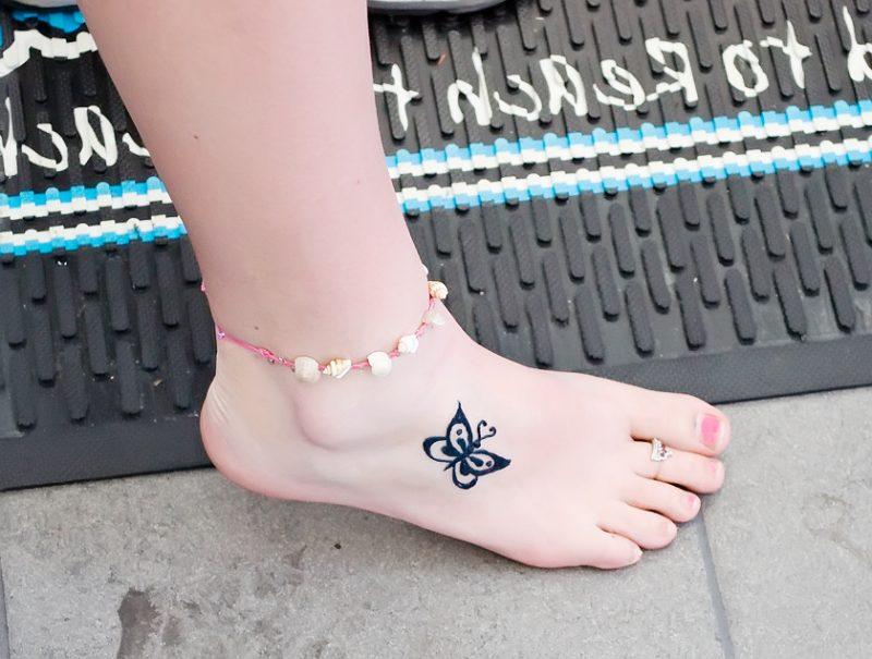 Kleine Schmetterlinge Tattoos