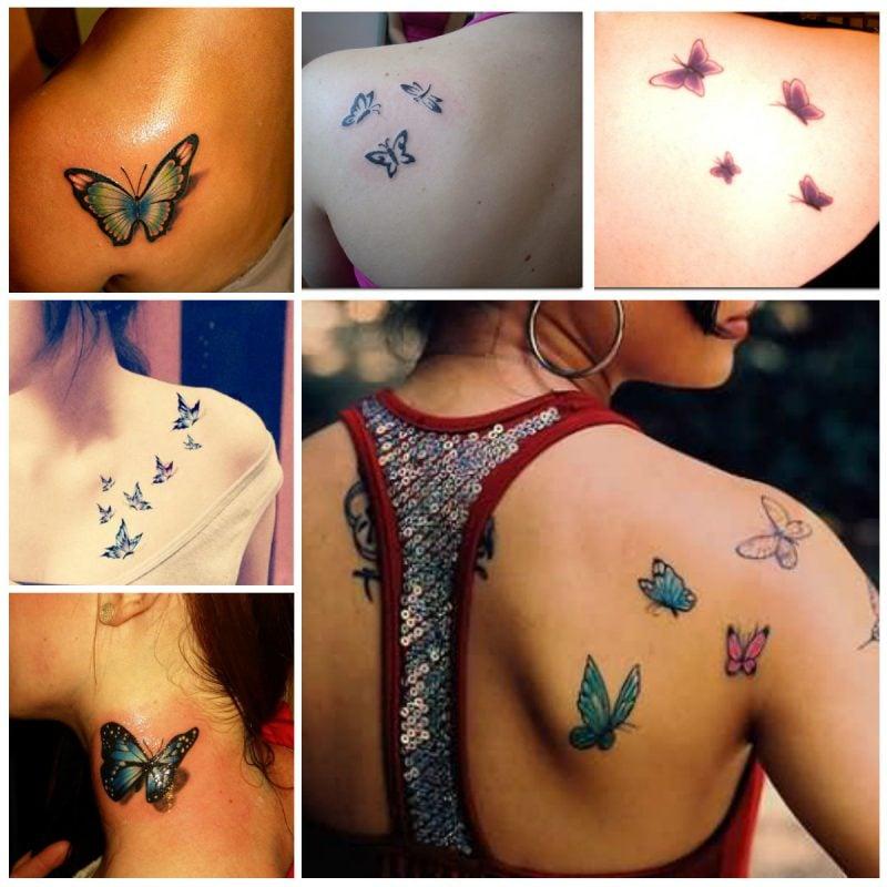 Das symbolisieren die Schmetterling Tattoos : Schmetterling Bedeutung ist vielseitig