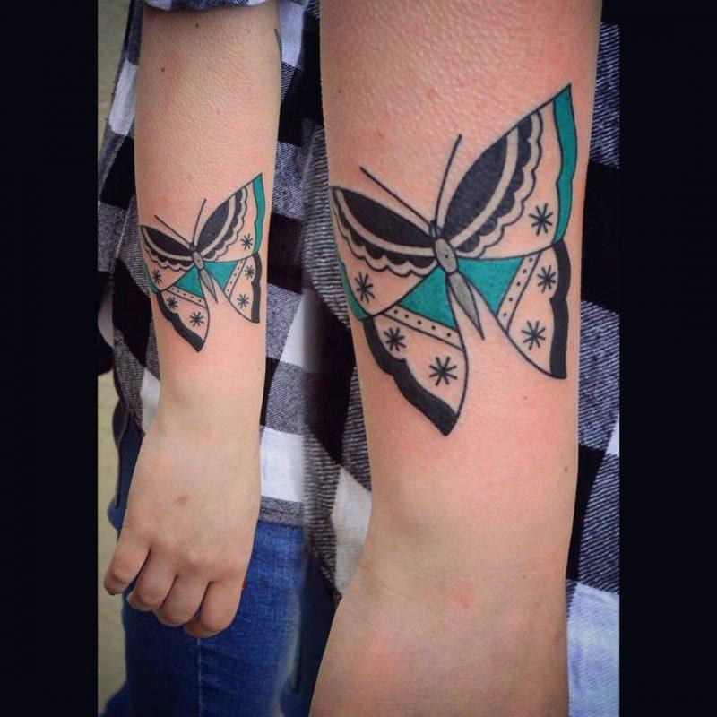 Tattoo Schmetterlinge Ideen