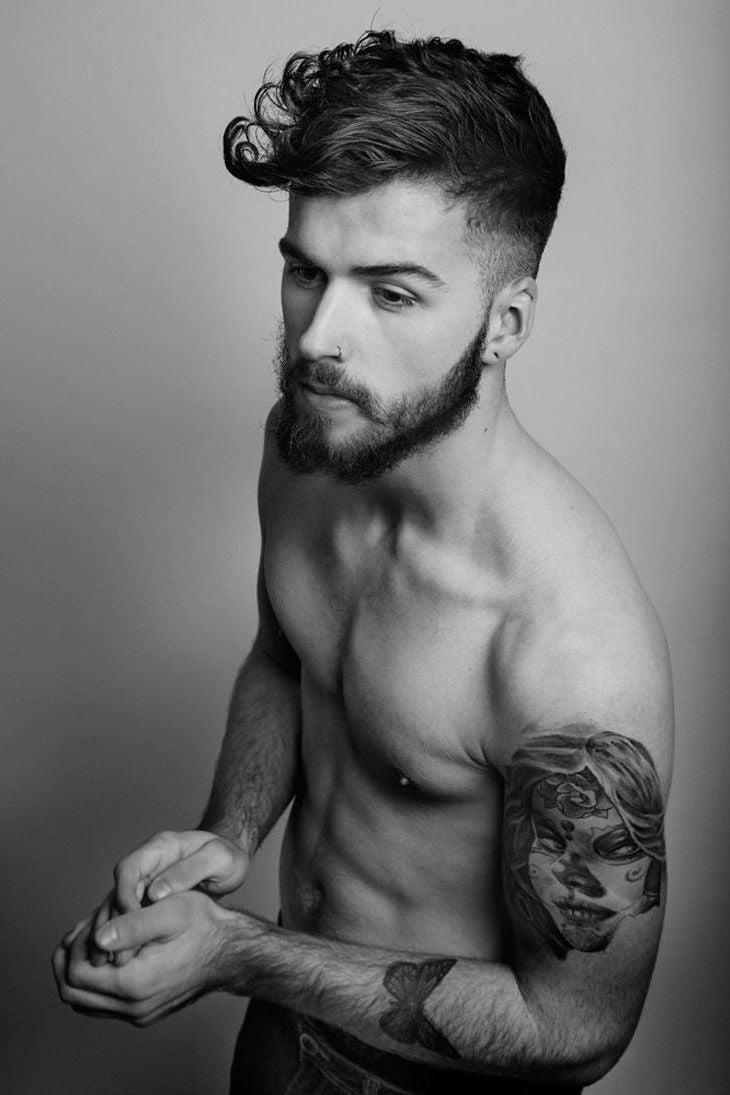 Schmetterling Tattoos sind auch von Männern sehr beliebt