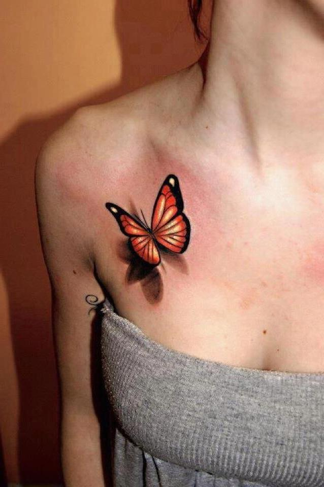 Tattoo Schmetterling
