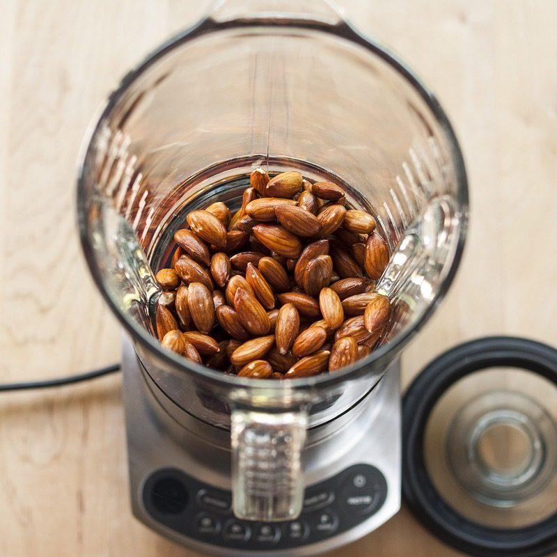 mandelmilch gesund mandelmilch selber machen mandelmilch rezept