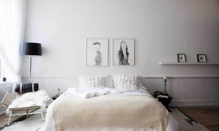 skandinavisches schlafzimmer ideen weiß schlafzimmer design