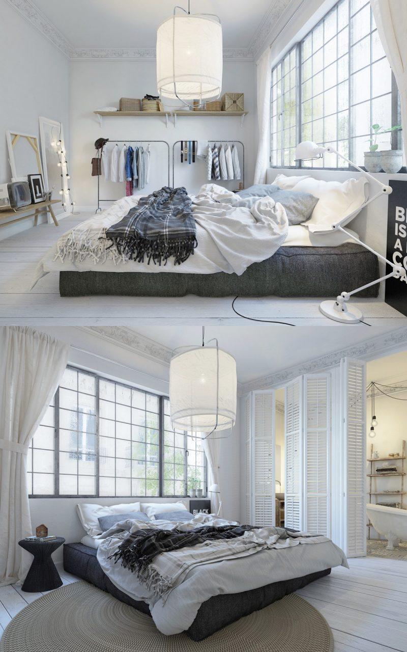 schlafzimmer ideen skandinavischer stil einrichtungsideen