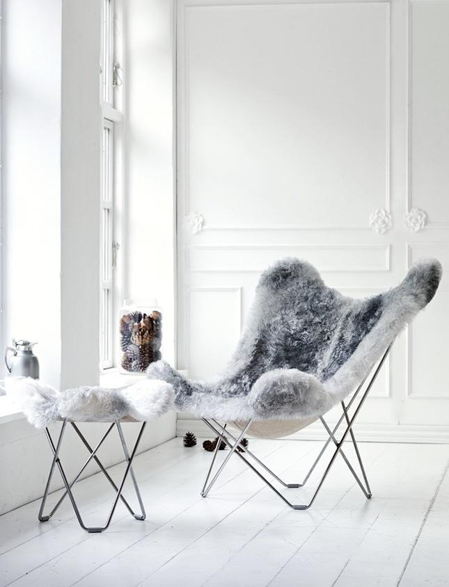 Einrichtungsideen Mit Fell Kuschelige Möbel Für Kalte