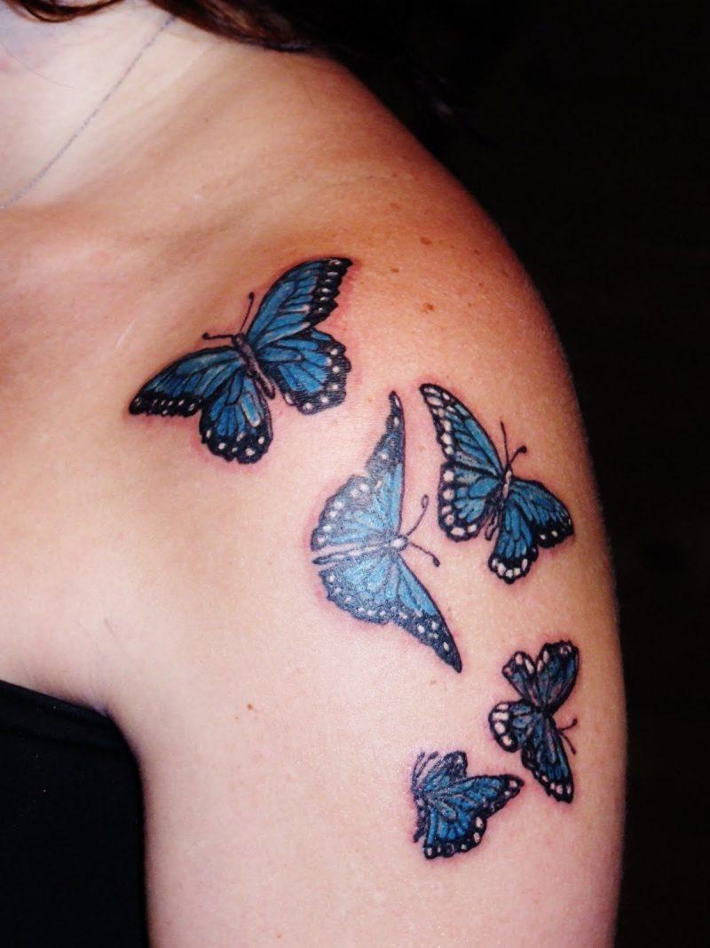 Tattoo Schmetterlinge Frauen
