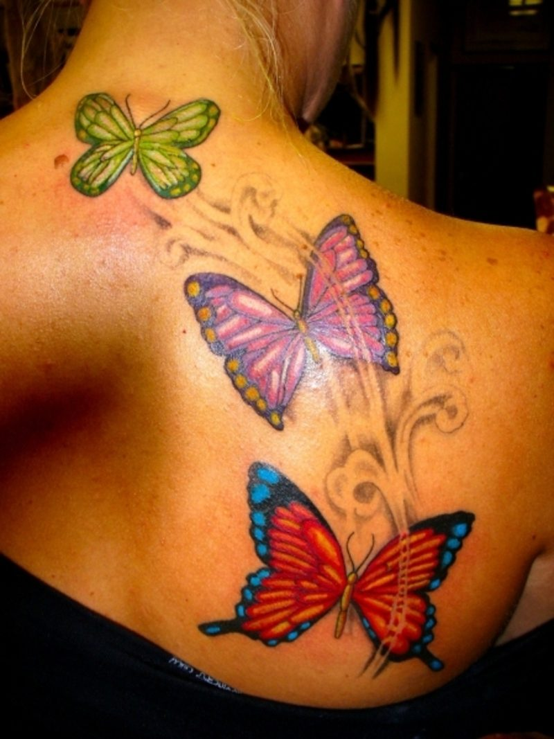 Schmetterling Tattoos Frauen