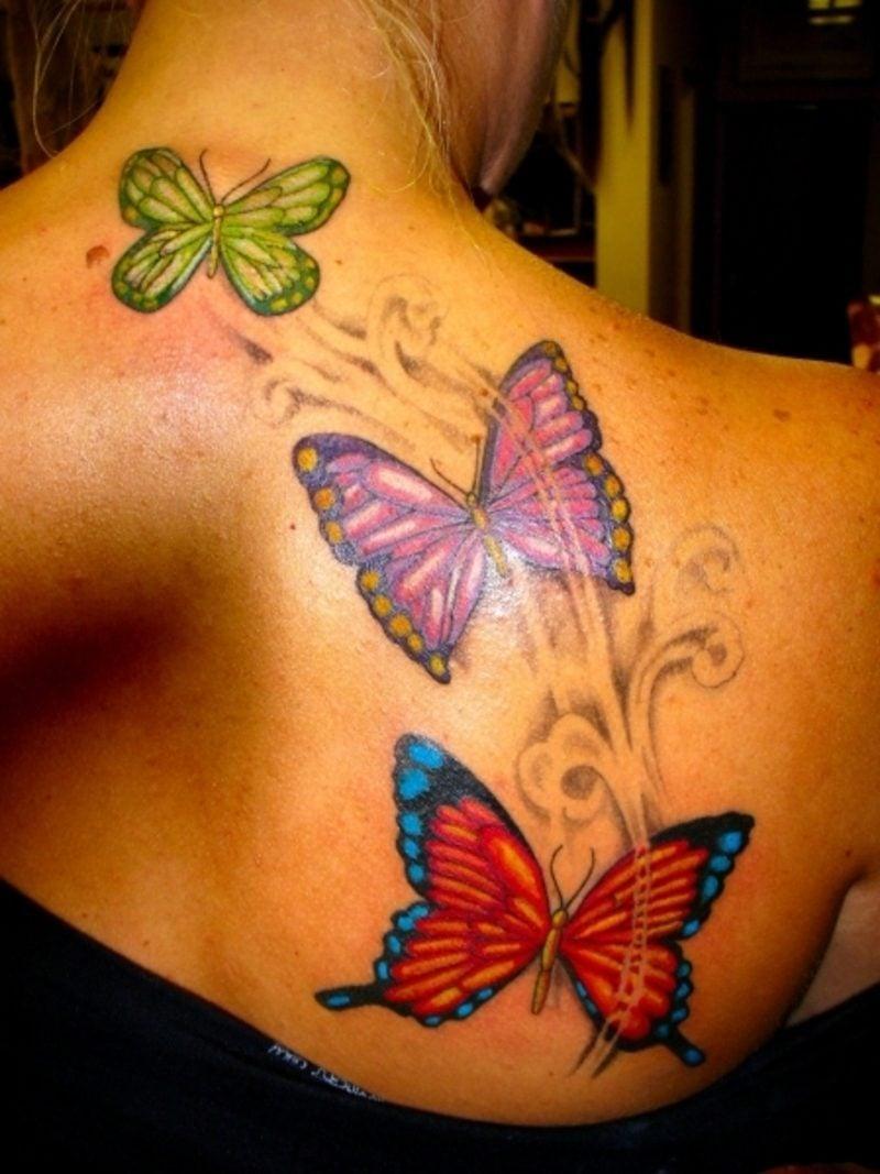 Schmetterling Tattoos Frauen