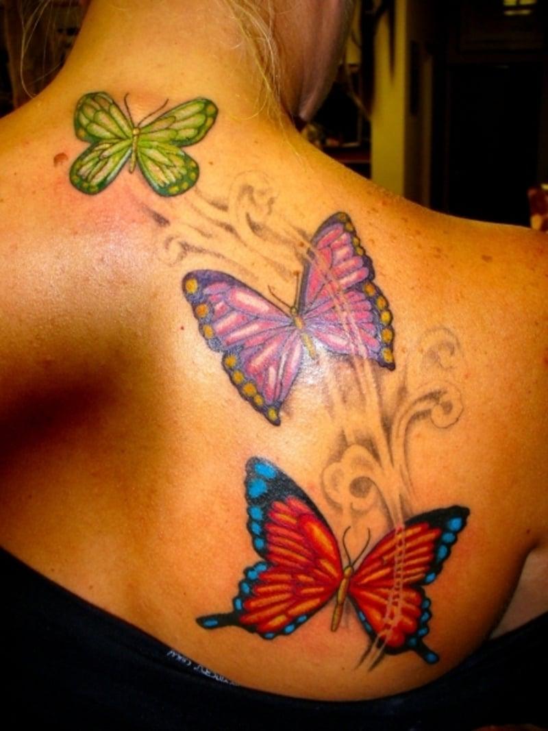 29 schmetterling tattoos die abosluter hammer sind. Black Bedroom Furniture Sets. Home Design Ideas
