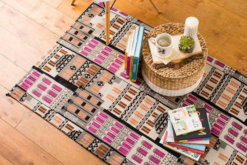 teppich sitzkissen clutch und rock 4 n hideen mit anleitungen deko feiern diy zenideen. Black Bedroom Furniture Sets. Home Design Ideas