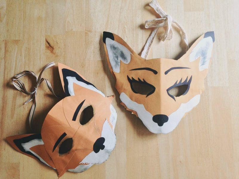 masken selber machen gesichtsmasken maske selber machen masken basteln tiermasken papier