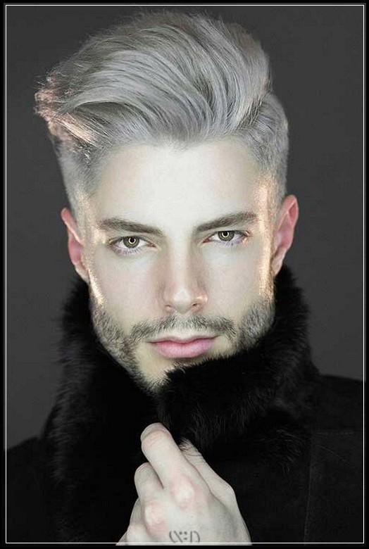 Manner Frisuren 2018 Trendige Pompadour Frisur Fur Herren