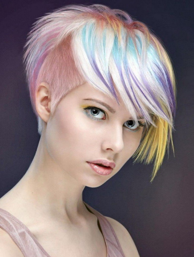 Undercut Frauen Frisuren So Stylen Sie Den Undercut Diy