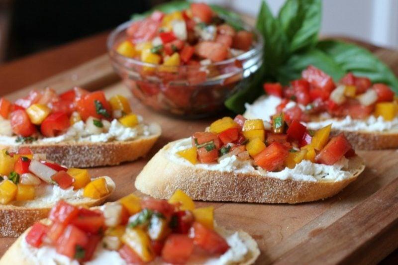 schnelle Partysnacks Rezepte vegetarisch