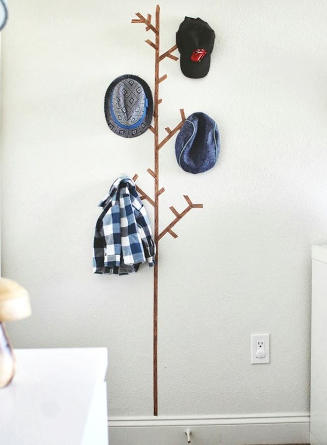 wände gestalten washi tape diy wandgestaltung selber machen wohnzimmer ideen