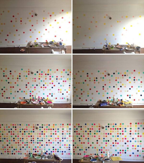 Wandgestaltung Selber Machen Punkte