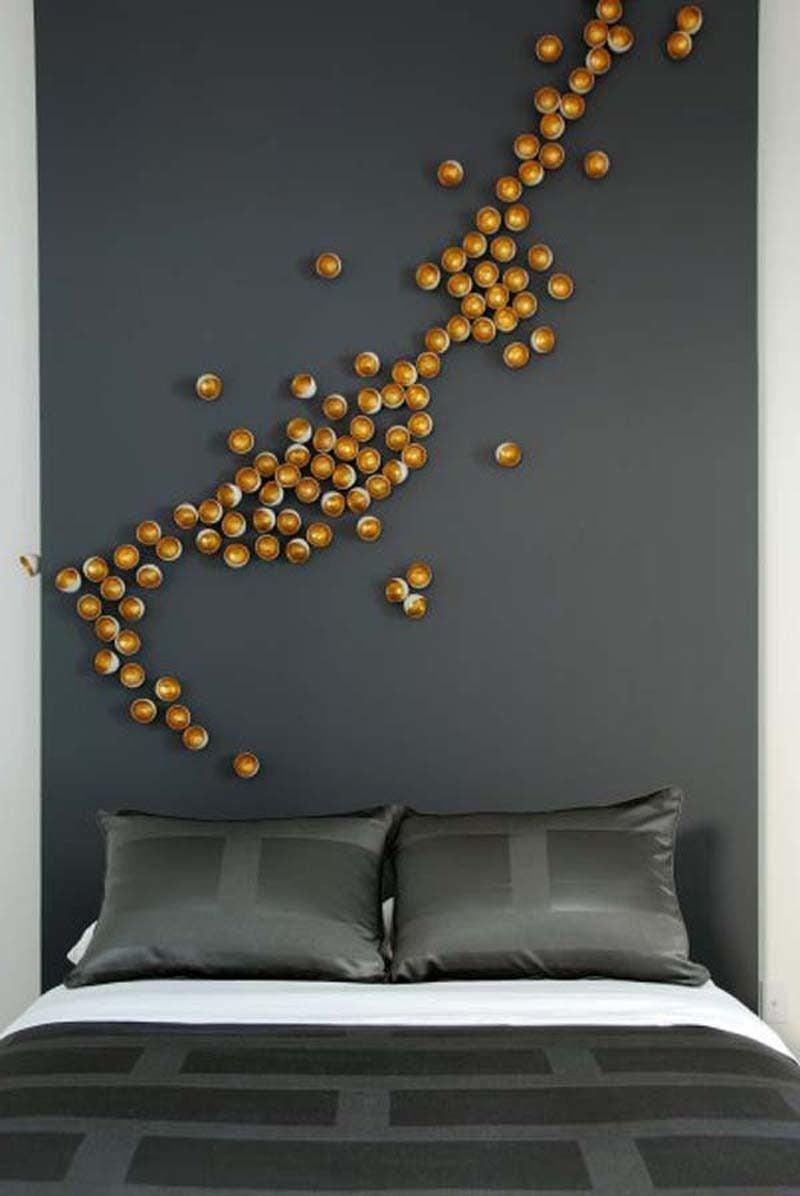 wandgestaltung ideen schlafzimmer farben