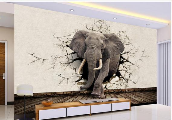 3D wandkunst wandgestaltung wohnzimmer ideen