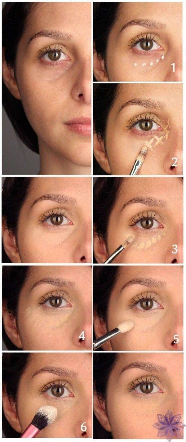 Was tun gegen Augenringe - Make Up Anleitung