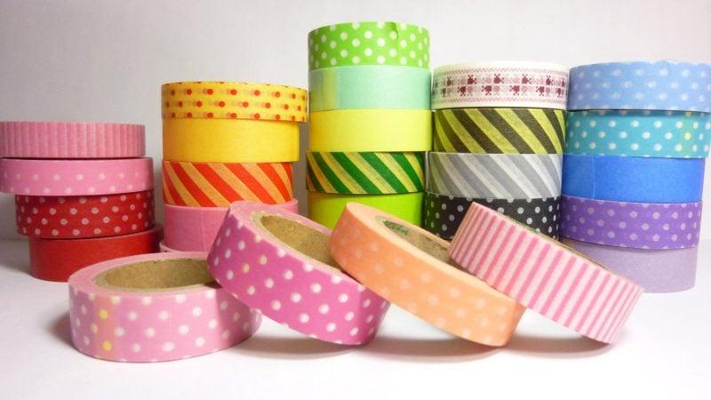 wände gestalten washi tape diy wandgestaltung selber machen washi tape motive