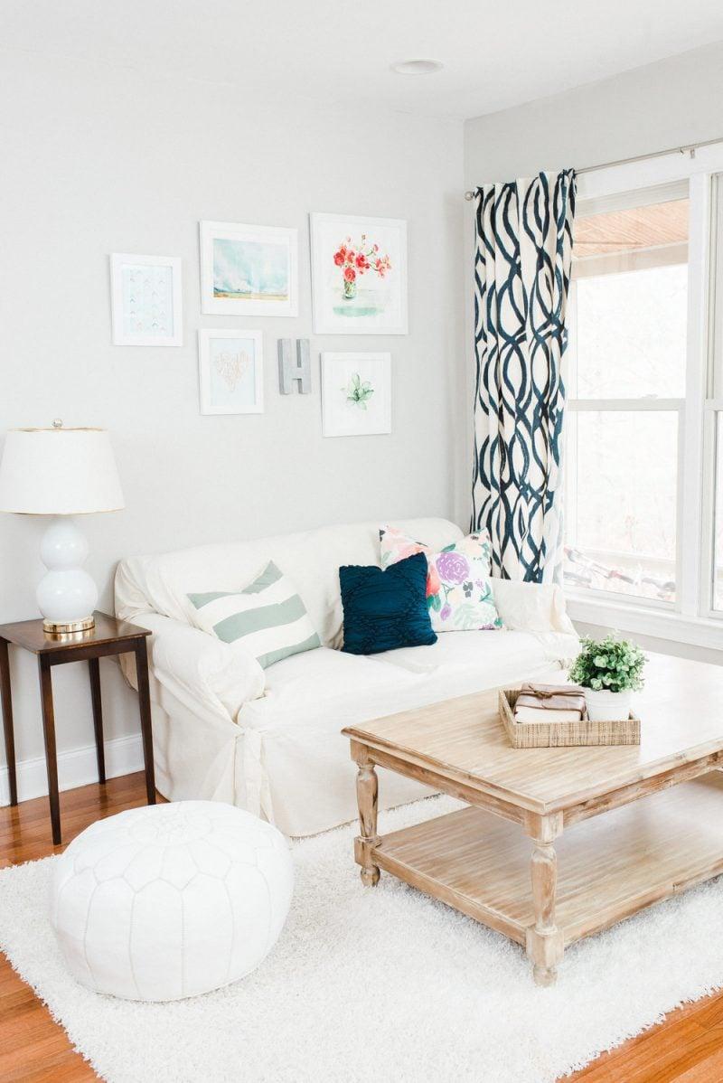 Wohnzimmer Gestalten Ideen Weiß Möbel