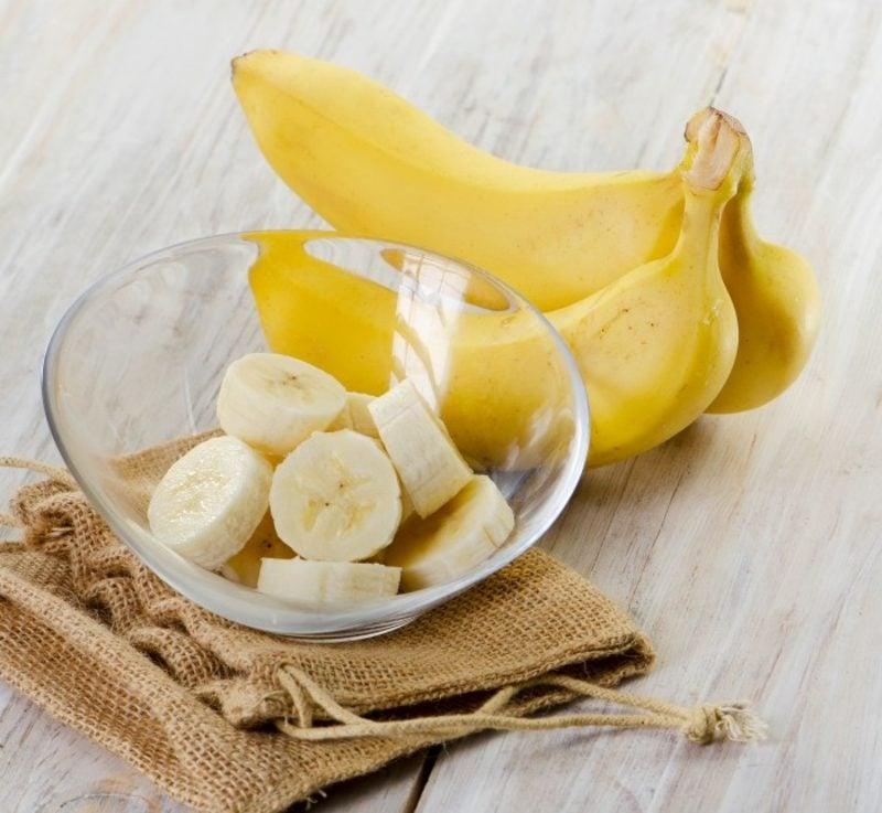 Gesichtsmasken wirkungsvoll sensibile Haut Bananen