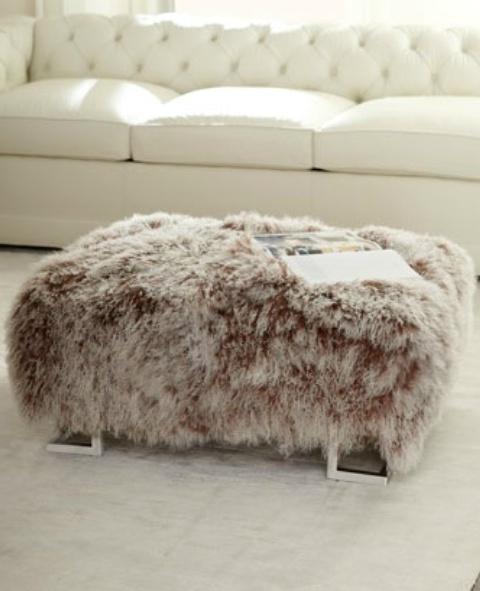 Einrichtungsideen Mit Fell: Kuschelige Möbel Für Kalte