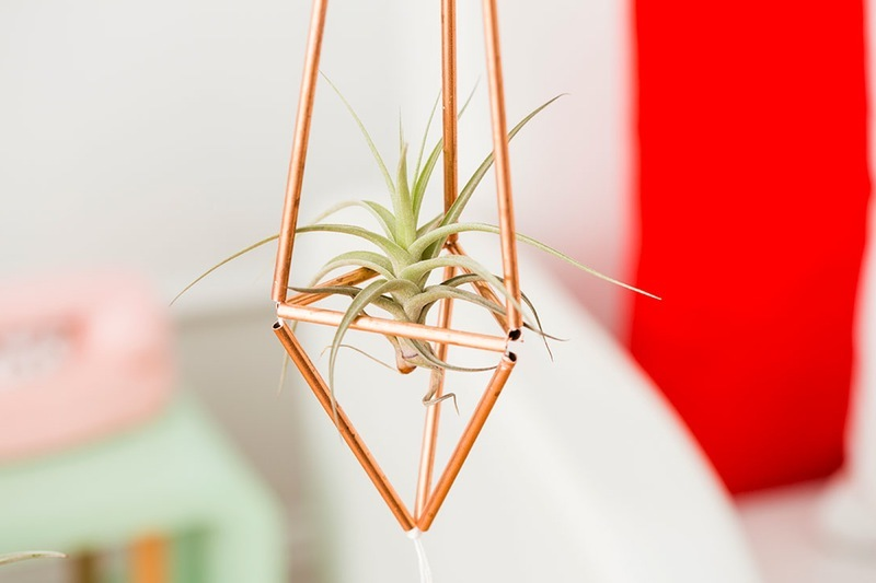 Diy Wohnideen In Kupfer Farbe Und Blumenampel Anleitung Diy