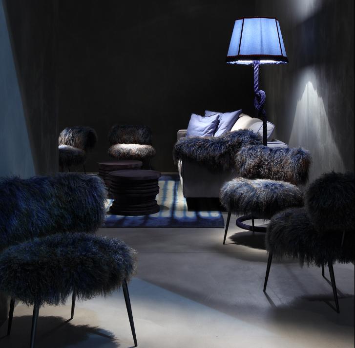 einrichtungsideen fell möbel wohnzimmer einrichten wohn ideen schöne wohnideen