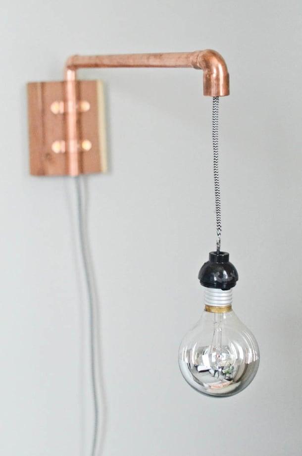 diy wohnideen in kupfer farbe und blumenampel anleitung. Black Bedroom Furniture Sets. Home Design Ideas