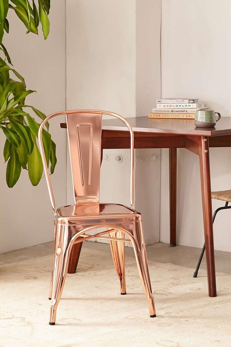 schöne wohnideen einrichtungstipps einrichtungsideen stuhl kupfer garten und wohnen