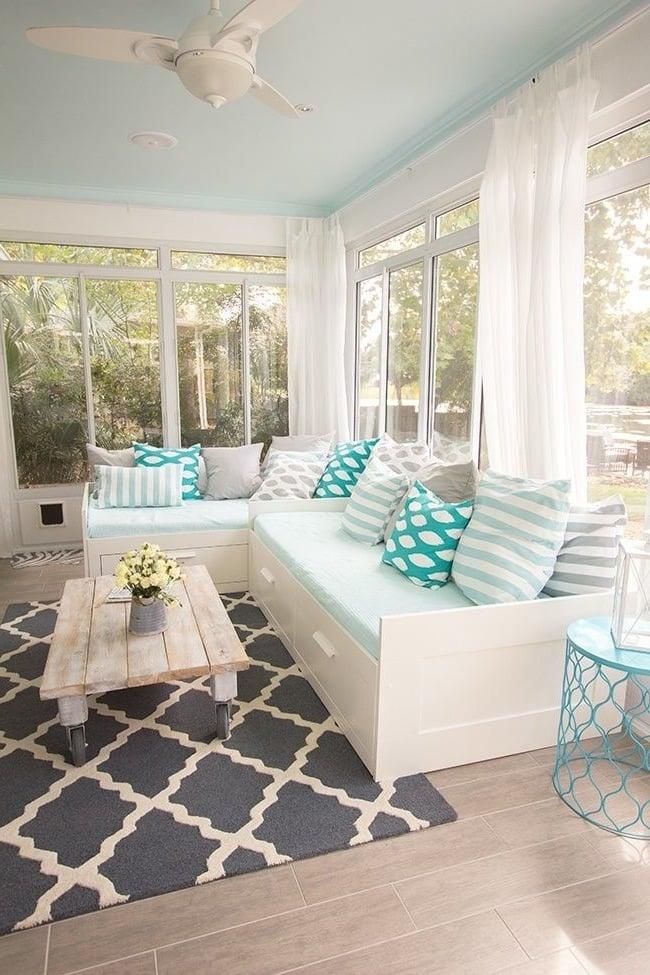 Wohnzimmer Deko Ideen für Frühling