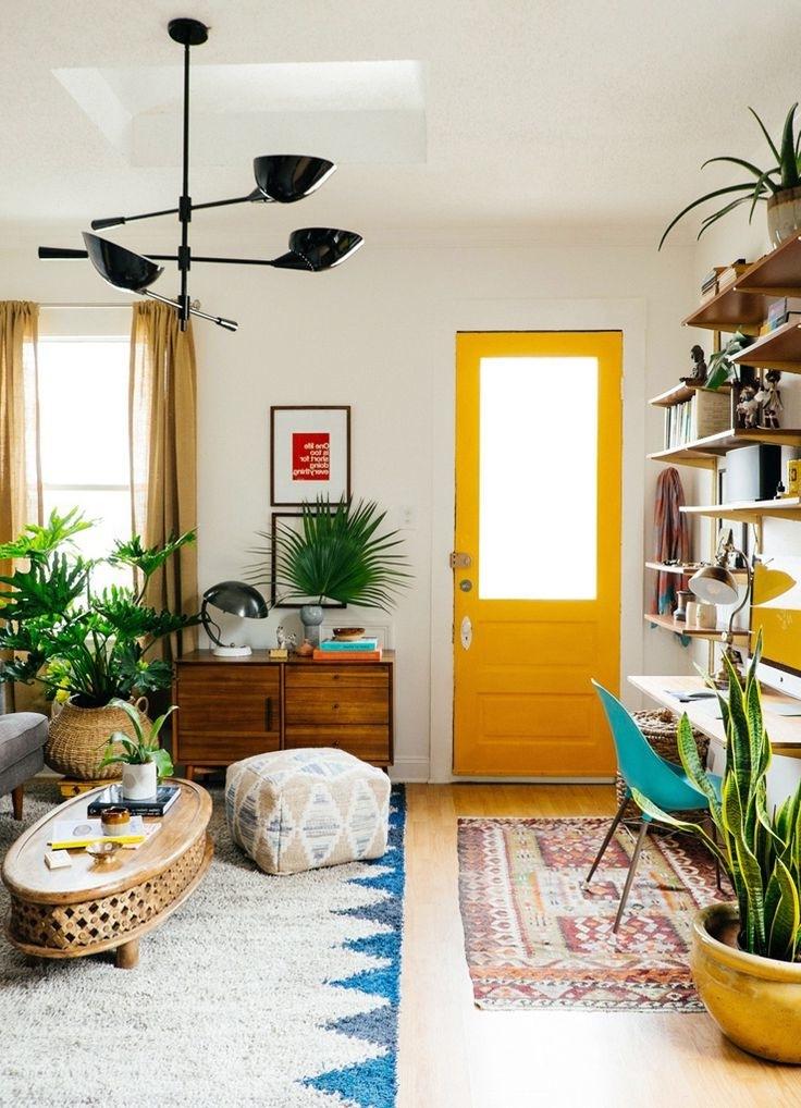 Wohnzimmer Frühlingsdeko Ideen