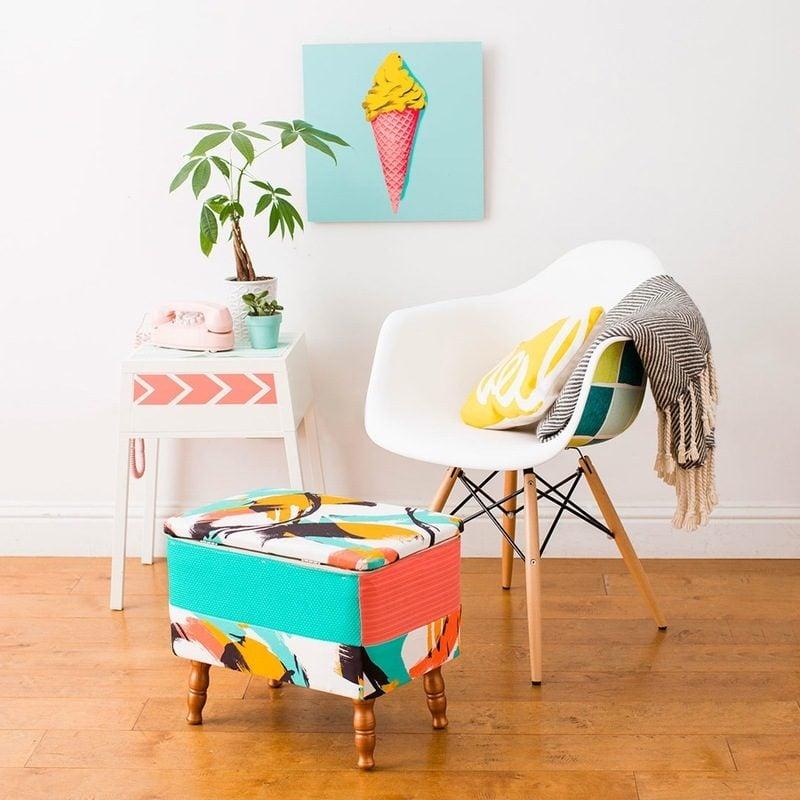 DIY Deko im Wohnzimmer: Aus alte Möbeln neue machen