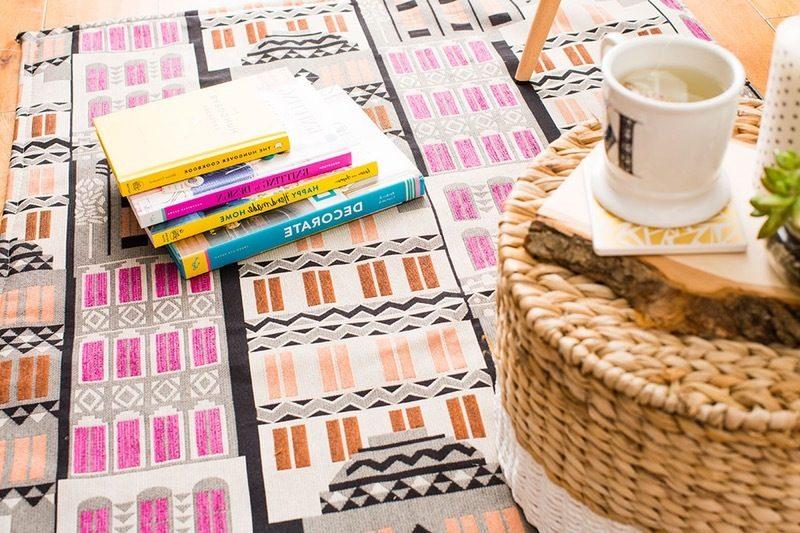 DIY Deko im Wohnzimmer : Teppich selber machen