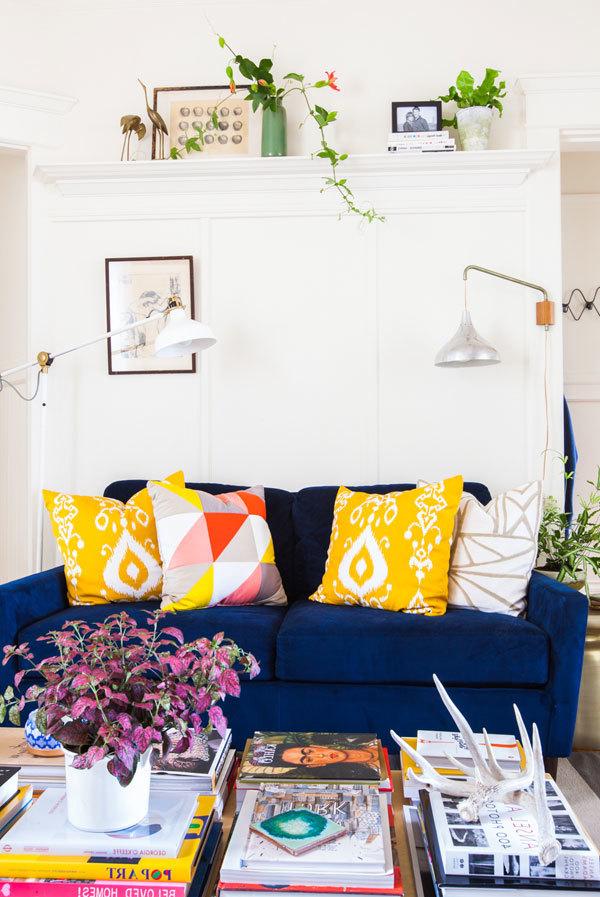 DIY Deko im Wohnzimmer : kreative Wandgestaltung