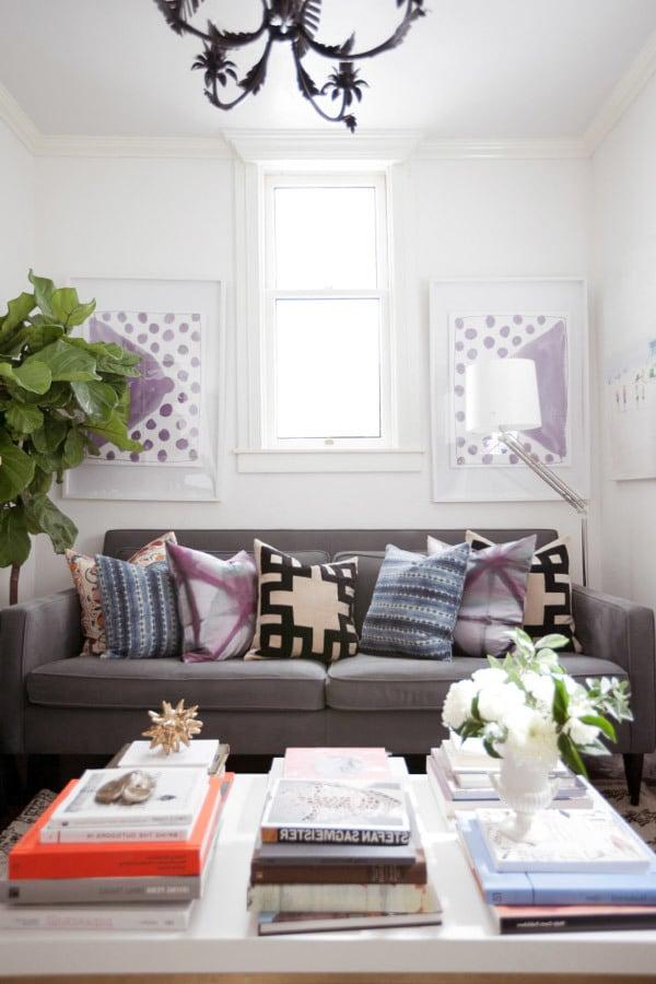Bringen Sie Frühling im Wohnzimmer mit diesen kreativen Wohnideen