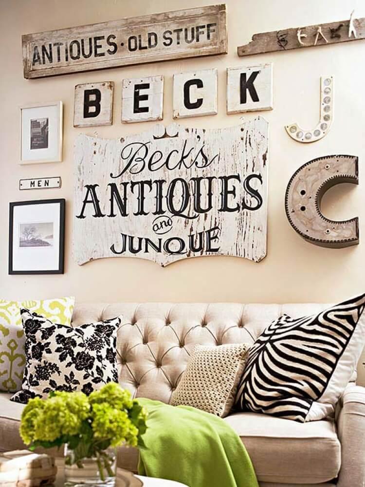 wandgestaltung wohnzimmer ideen holz deko