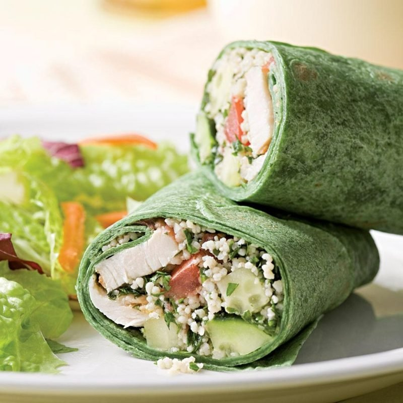 Wraps sind ein kulinarisches Highlight für ein Picknick, die Gartenparty, fürs Frühstück oder für den schnellen Bürosnack.