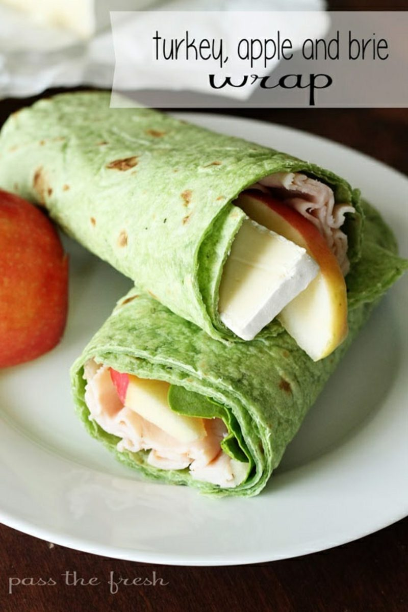 BLT Wraps turkey apple brie rezept wraps tortillas selber machen rezept wraps tortilla