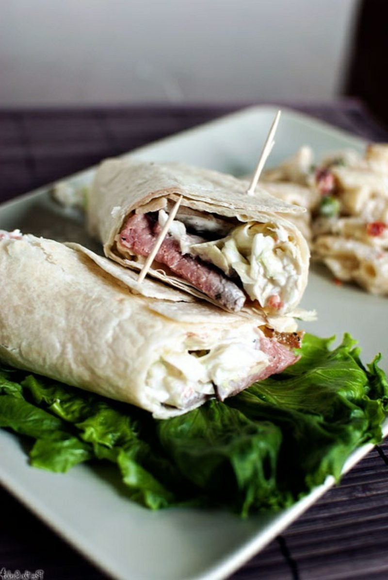 Vegetarische Wraps wraps vegetarisch dürüm selber machen wrap soße