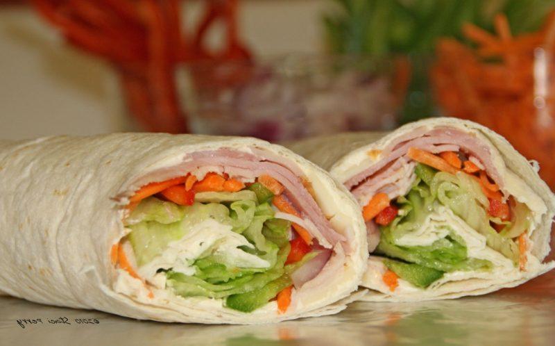 Neben dem Sandwich sind Wraps der perfekte Snack für zwischendurch.