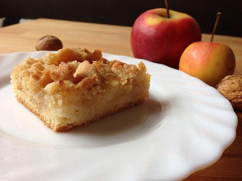 Backen zum Muttertag Apfelkuchen