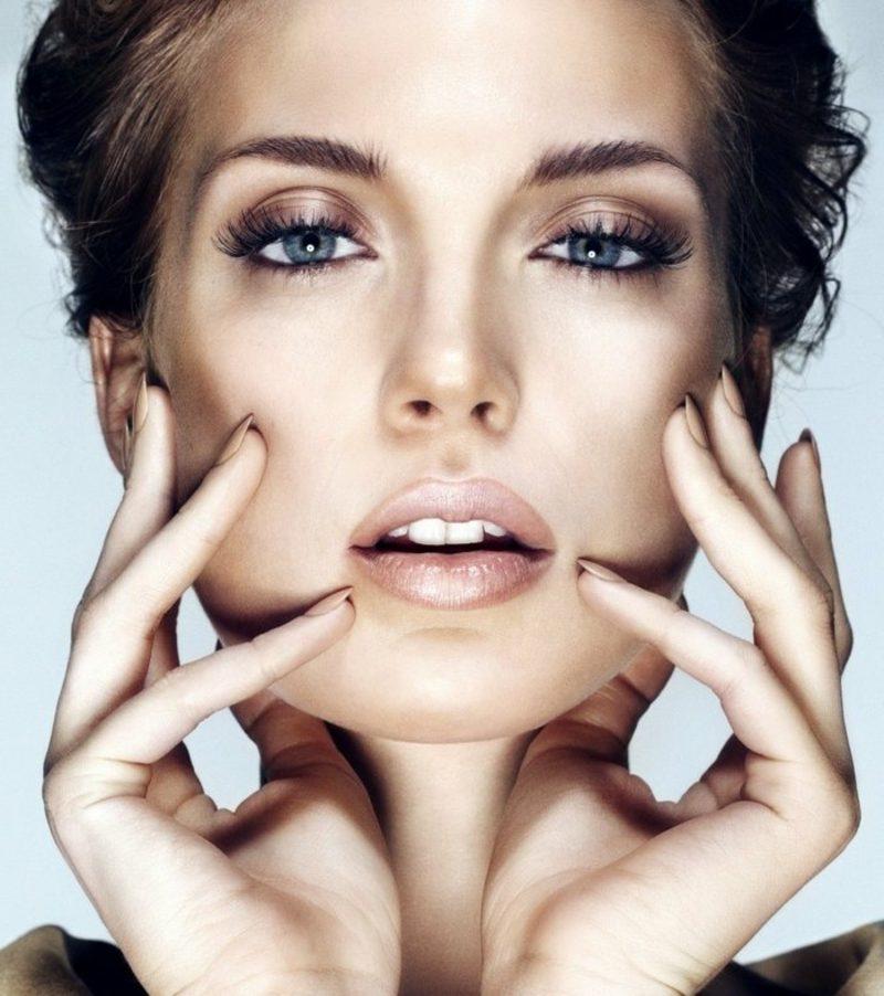 Augen Make-up Sommer bronze Lidschatten