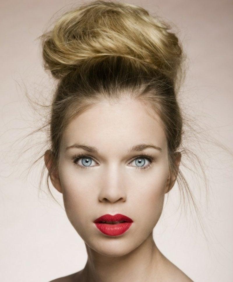 Augen Make-up Sommer weisser Kajalstift
