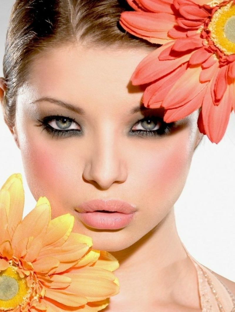 Augen Make-up Sommer Schminktipps