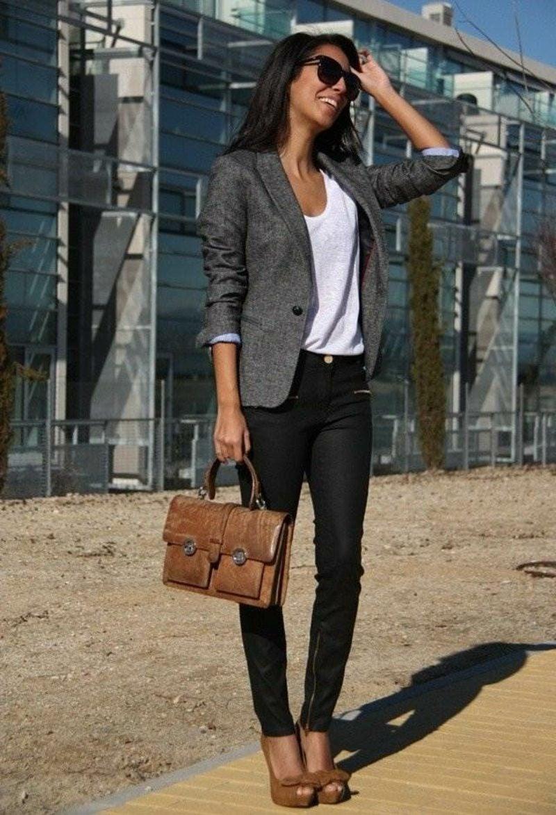 Damenmode Dresscode Business Casual herrliche Ideen