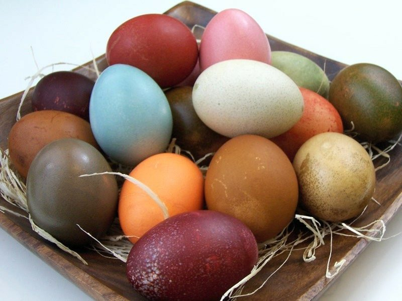 Ostereier färben mit Naturfarben herrlicher Look