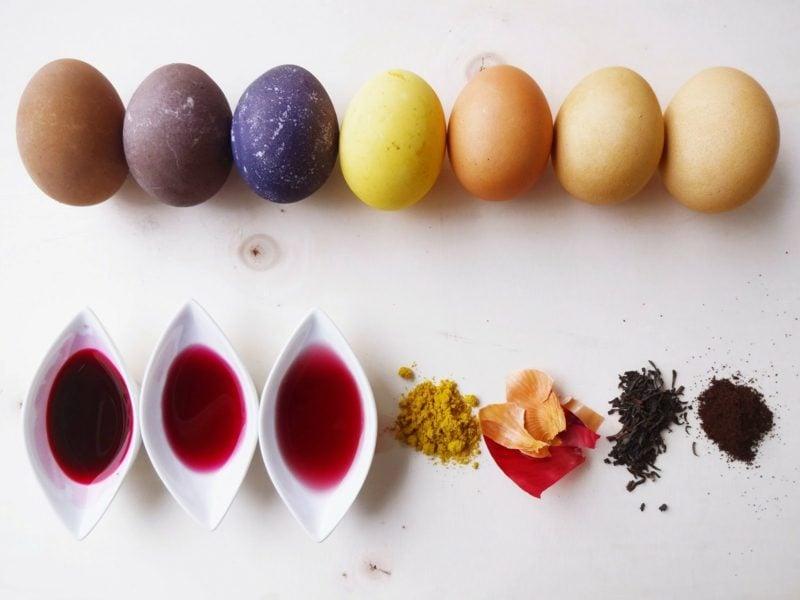 Ostereier färben mit Naturfarben Rezepte und Verzierungstechniken